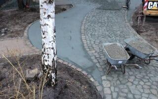 Wege und terrassen angelegt durch Garten Kalisch Güstrow