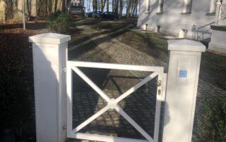 Zäune gesetzt durch das Team Garten Kalisch aus Kuhs / Güstrow